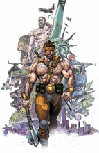Image: Hercules #1 by Mann Poster  - Marvel Comics