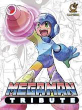 Image: Mega Man Tribute HC  - Udon Entertainment Inc