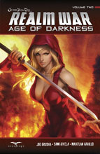 Image: Grimm Fairy Tales Presents: Realm War Age of Darkness Vol. 02 SC  - Zenescope Entertainment Inc