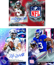 Image: Topps 2015 Platinum Football Card Box  -
