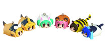 Image: Hatsune Miku Animal Charm Straps 8-Piece Display  -