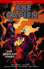 Image: Abe Sapien Vol. 08: The Desolate Shore SC  - Dark Horse Comics