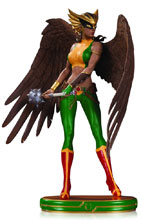 Image: DC Cover Girls Statue: Hawkgirl  - DC Comics