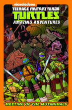 Image: Teenage Mutant Ninja Turtles: The Meeting of the Mutanimals HC  - IDW Publishing