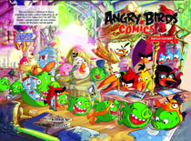Image: Angry Birds Comiccs: Ruffled Feathers HC  - IDW Publishing