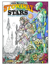 Image: John Byrne's Stowaway to the Stars: A Graphic Album to Color SC  - IDW Publishing