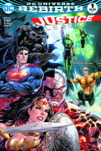 Image: Justice League #1 (DFE Limited Series signed by Tyler Kirkham)  [2016] - Dynamic Forces