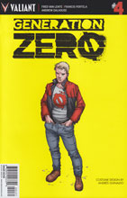 Image: Generation Zero #4 (Guinaldo Character Design incentive cover - 00431) (10-copy)  [2016] - Valiant Entertainment LLC