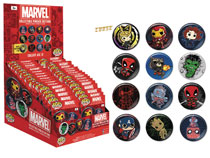 Image: Marvel Heroes 34-Piece Button Blindpack Display  - Funko