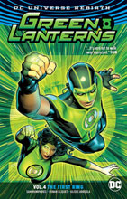 Image: Green Lanterns Vol. 04: The First Rings  (Rebirth) SC - DC Comics