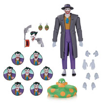 Image: Batman Animated Series Action Figure Pack: Joker Expressions  - DC Comics
