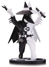 Image: Batman Black & White Statue: Spy vs. Spy as Batman by Kuper  - DC Comics