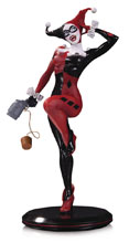 Image: DC Cover Girls Statue: Harley Quinn by Joelle Jones  - DC Comics
