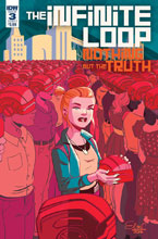 Image: Infinite Loop: Nothing But the Truth #3 (cover A - Charretier) - IDW Publishing
