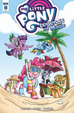 Image: My Little Pony: Legends of Magic #8 (incentive cover - Jennifer Hernandez) (10-copy) - IDW Publishing