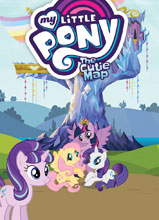 Image: My Little Pony: Cutie Map SC  - IDW Publishing