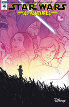 Image: Star Wars Adventures #4 (incentive cover - Annie Wu) (10-copy) - IDW Publishing