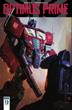Image: Optimus Prime #13 (incentive cover - Livio Ramondelli) (10-copy) - IDW Publishing