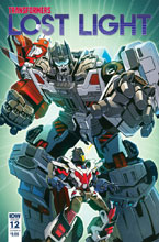 Image: Transformers: Lost Light #12 (cover C - Milne) - IDW Publishing