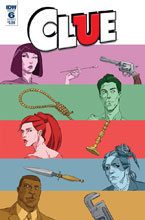 Image: Clue #6 (cover A - Schoening) - IDW Publishing