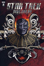 Image: Star Trek: Discovery: The Light of Kahless #2 (incentive cover - Aaron Harvey) (10-copy)  [2017] - IDW Publishing
