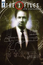 Image: X-Files: JFK Disclosure #2 (cover A - Menton3) - IDW Publishing