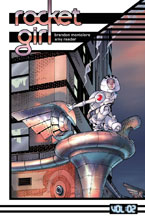 Image: Rocket Girl Vol. 02: Only the Good SC  - Image Comics