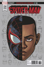 Image: Spider-Man #234 (Legacy) (variant Legacy Headshot cover - McKone) - Marvel Comics