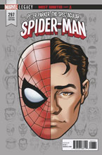 Image: Peter Parker, the Spectacular Spider-Man #297 (Legacy) (variant Legacy Headshot cover - Mike McKone) - Marvel Comics