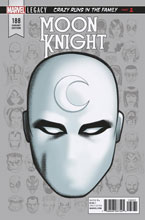 Image: Moon Knight #188 (Legacy) (variant Legacy Headshot cover - McKone) - Marvel Comics