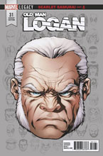 Image: Old Man Logan #31 (Legacy) (variant Legacy Headshot cover - McKone) - Marvel Comics