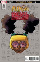 Image: Moon Girl and Devil Dinosaur #25 (Legacy) (variant Legacy Headshot cover - Mike McKone) - Marvel Comics