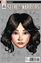 Image: Secret Warriors #8 (Legacy) (variant Legacy Headshot cover - McKone) - Marvel Comics