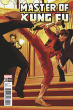 Image: Master of Kung Fu #126 (Mayhew variant cover) - Marvel Comics