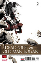 Image: Deadpool vs. Old Man Logan #2 - Marvel Comics