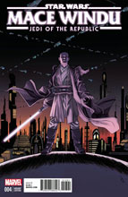 Image: Star Wars: Mace Windu #4 (variant cover - Shalvey) - Marvel Comics