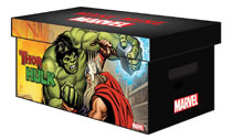 Image: Marvel Graphic Comic Boxes  (Bundle of 5) - Marvel Comics