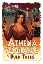 Image: Athena Voltaire: Pulp Tales Prose Novel Vol. 01 SC  - Action Lab Entertainment