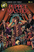 Image: Puppet Master: Curtain Call #2 (cover A - Logan) - Action Lab - Danger Zone