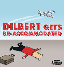 Image: Dilbert: Dilbert Gets Re Accommodated SC  - Andrews Mcmeel