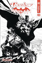 Image: Shadow / Batman #2 (cover F incentive - Tan B&W) (10-copy) - Dynamite