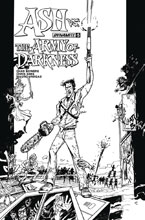 Image: Ash vs. the Army of Darkness #5 (cover D incentive - Vargas B&W) (10-copy) - Dynamite