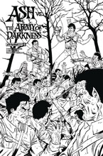 Image: Ash vs. the Army of Darkness #5 (cover E incentive - Schoonover B&W) (20-copy) - Dynamite