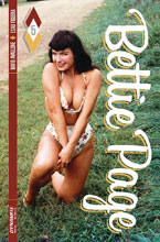 Image: Bettie Page #5 (cover C - Photo) - Dynamite