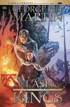 Image: Game of Thrones: Clash of Kings #6 (cover B - Rubi) - Dynamite