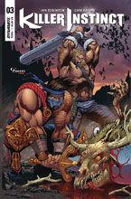Image: Killer Instinct #3 (cover C subscription - Adams) - Dynamite