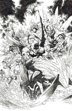 Image: Dark Nights: Metal #2 (DFE signed - Gold Lee) - Dynamic Forces