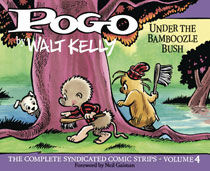Image: Pogo Complete Syndicated Strips Vol. 04: Vote Pogo HC  - Fantagraphics Books