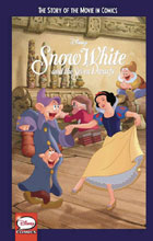 Image: Disney Story of the Movie in Comics: Snow White & 7 Dwarfs GN  (Young Adult) - Joe Books Inc