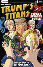 Image: Trump's Titans #2 (cover A - Terrific Tremendous) - Keenspot Entertainment